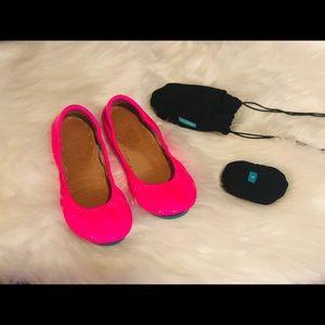 Tieks Pop Pink Limited Edition Size 6